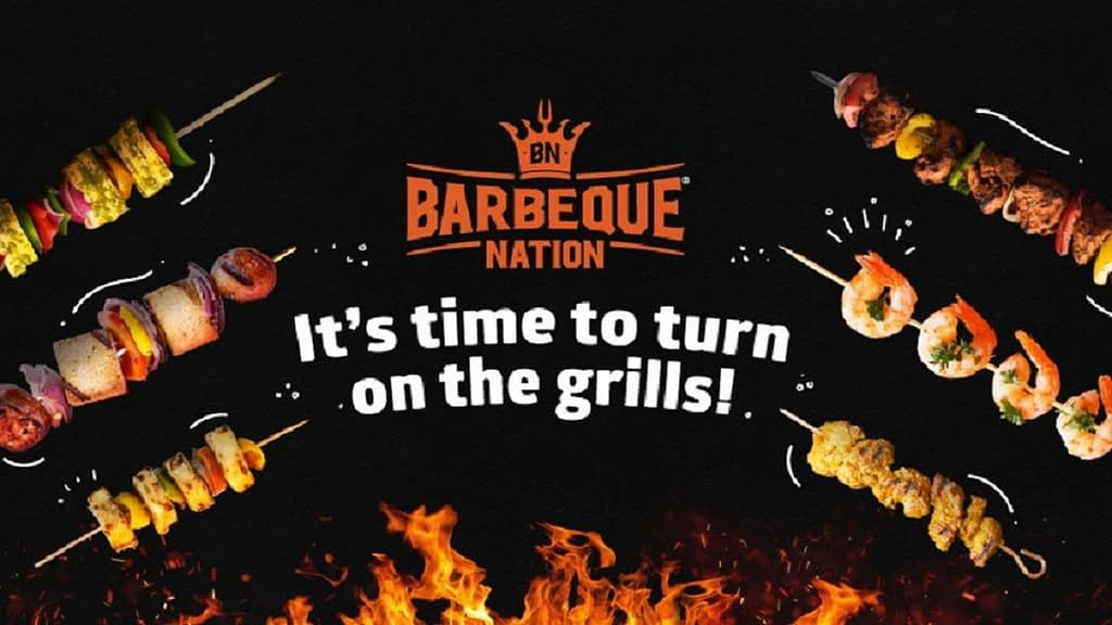 Barbeque Nation is one of the most well known food & beverage chains