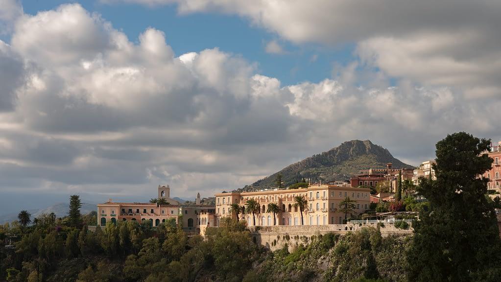 The imposing San Domenico Palace, Taormina, A Four Seasons Hotel