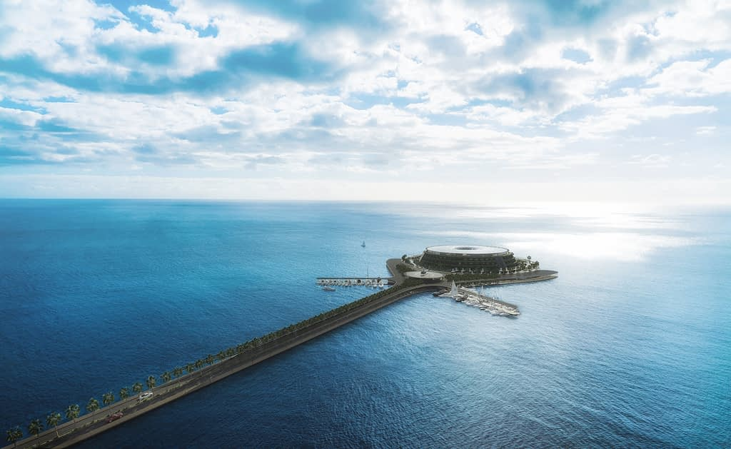 Get ready to visit Qatar's floating eco luxury hotel by 2025
