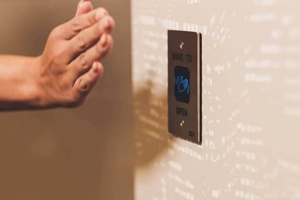 wave-to-open-switch-based-truly-touchless-doors-hospitality-technology-hospibiz-technological-transformation