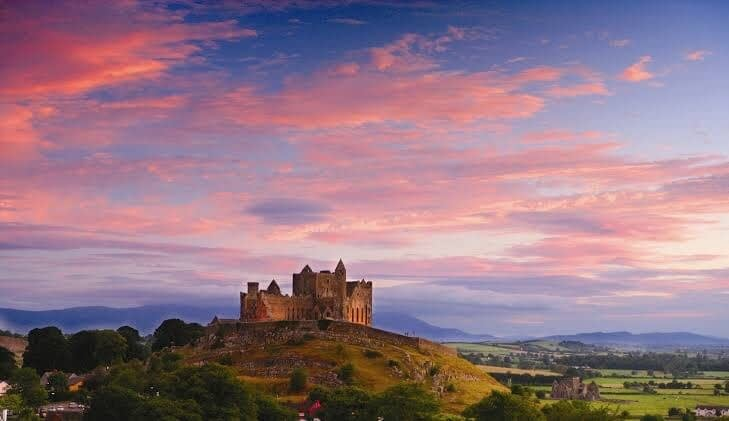 Ireland is famous for its castles