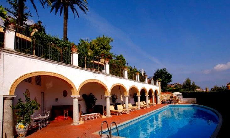 The San Domenico Palace, Taormina, A Four Seasons Hotel infinity pool