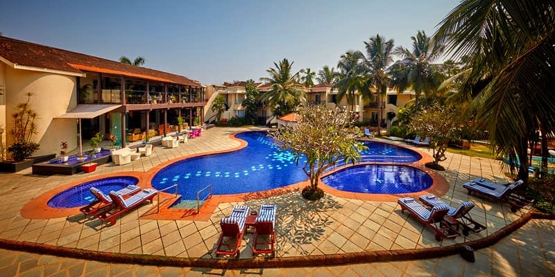 The Royal Orchid Hotel property in Goa