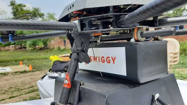 Swiggy and ANRA Technologies join hands to introduce drone delivery trials in India